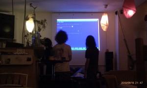 F'Hain LinuxUserGroup @Nerdcafe in Vetomat
