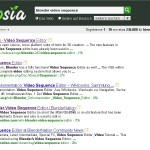 Test Search for Ecosia Social enigne