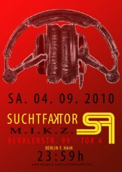 Suchtfaktor 4.9.20 Flyer