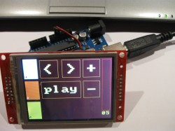 VLC remote on Arduino Touchscreen