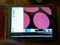 LXDE on the touchscreen